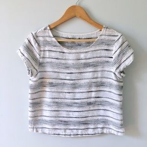 Anthropologie Tops - Subtly Striped Top
