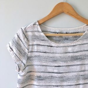 Madewell Tops - Subtly Striped Top