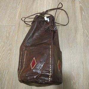 Handbags - Medium African Leather Tote bag