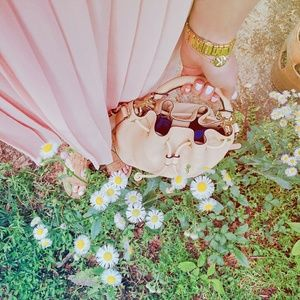 Zara Dresses & Skirts - Blush pleated skirt