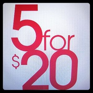 Other - 5 ($5) items for $20