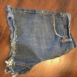 Gap Shorts - Gap button fly cut off denim shorts size 6