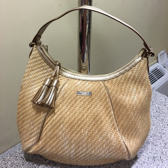 Kate Spade Bags Straw Bag With Zipper Poshmark