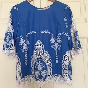 Tops - Embroidered Top