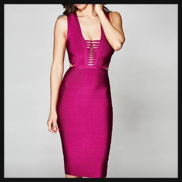 d8d6138a4c MARCIANO by Guess Madeline Bandage Dress XS