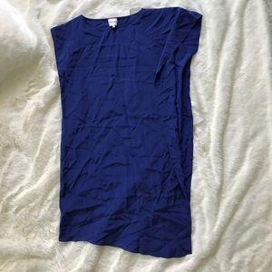 Reiss Dresses & Skirts - Cobalt Blue Reiss Asymmetrical Tunic Dress