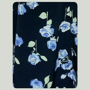 Unbranded Dresses - Young Lady's Summer Maxi-Dress Navy Floral