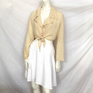 Ann Taylor Tops - New! Ann Taylor Toile Chiffon Blouse Floral Top! S