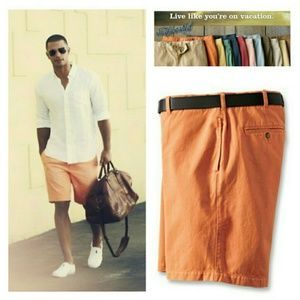Orvis Other - Orvis Sunwashed Chino Shorts Sz 46