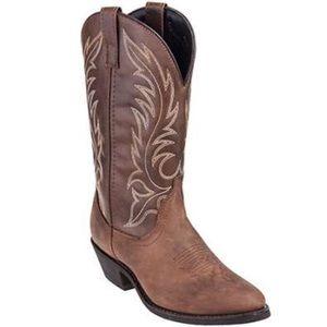 Laredo Shoes - Laredo Women's Kadi Tan Western Boots 6.5M