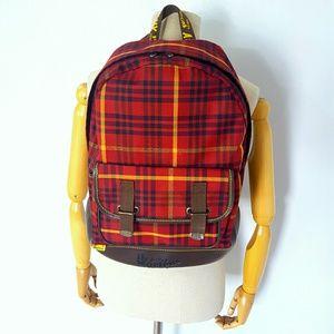 Dr. Martens Handbags - Dr. Martens plaid flannel backpack grunge leather