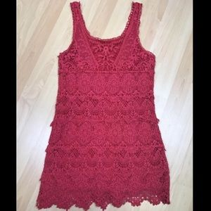 Anthropologie Dresses & Skirts - Anthropologie Staring at Stars Pink Dress XS
