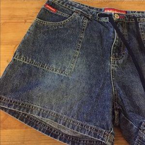 5/$20 sale! Unionbay denim shorts with drawstring