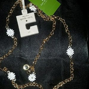 kate spade Accessories - New Arrival! Kate Spade Daisy Chain Belt NEW!