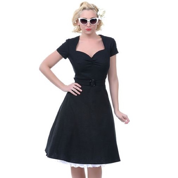 Vintage Style Black 2014 Prom Dresses