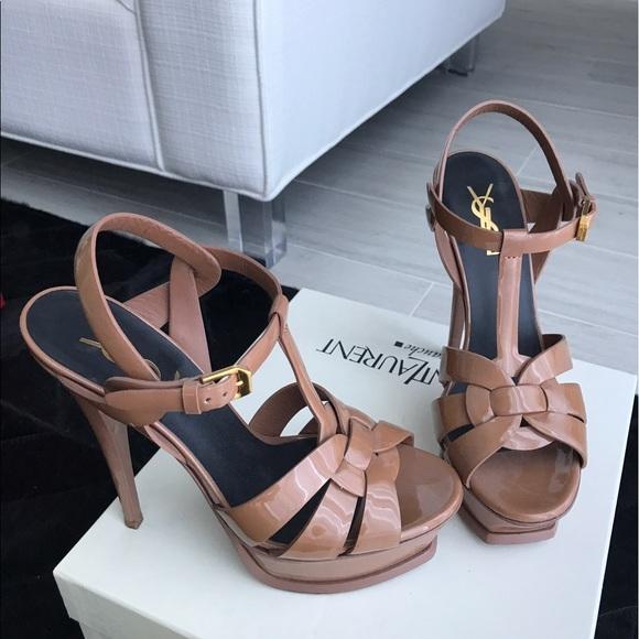 1bd13a2cee81a M 591dfa0a5a49d0e8c6002ea3. Other Shoes you may like. Saint Laurent Tribute  Platform sandals. Saint Laurent Tribute Platform sandals