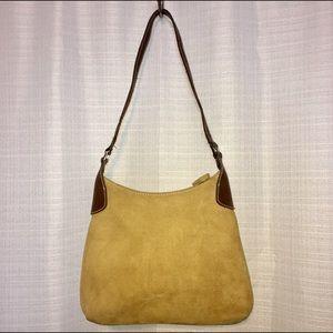 Barneys New York Handbags - $325 Barneys New York Suede Hobo Shoulder bag