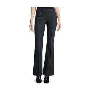 The Row Pants - THE ROW Becaro Seamed Flared Pants Black