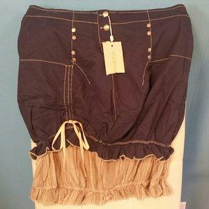 Motovi Skirt. Fashionable skirt with stud details