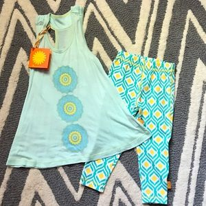 Masala Baby Other - NWT Modal Cotton Mandala Outfit