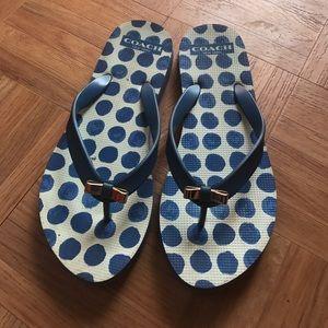 Coach Shoes - Coach flip flop!