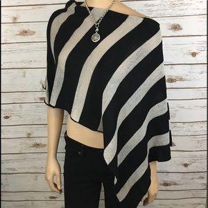 White House Black Market Sweaters - White House Black Market Cape Shawl Shrug One Size