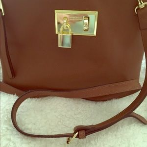 London Fog leather crossbody