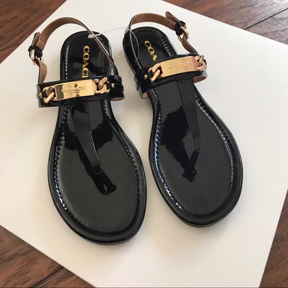 Patent Leather Thong Sandal | Poshmark