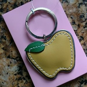 Liz Claiborne Accessories - 🍎Teacher Appreciation Gift🍎 Apple Key Ring