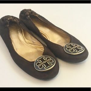 Tory Burch Shoes - Tory Burch Reva Ballet flats brown pony hair