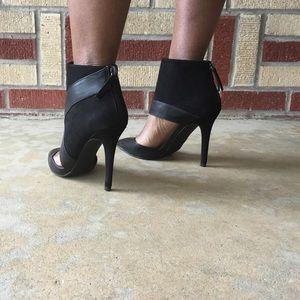 Black Zara Ankle Heels