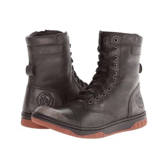 672f08cb7b93 Diesel Other - Diesel Basket Butch Zippy Boots Black Size 12