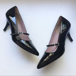 Boden Shoes - Boden Sixties Heels Black Patent Leather