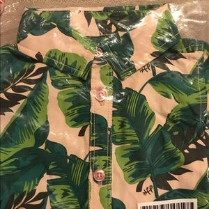 Freshly Picked Other - Freshly Picked palm leaves 12 month onesie