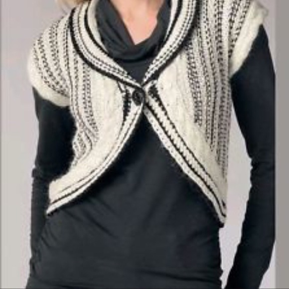 CAbi - CAbi Cable Knit Sweater Vest from ! mindy's closet on Poshmark