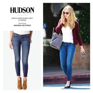 •Hudson• Krista Super Skinny Jeans