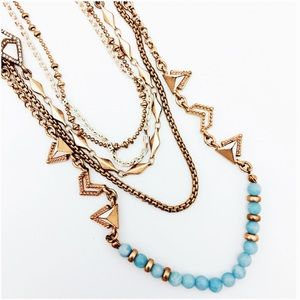 Chloe + Isabel Jewelry - Portico Multi-Row Necklace
