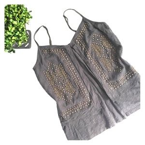 Lucky Brand Tops - LUCKY BRAND Embellished Top