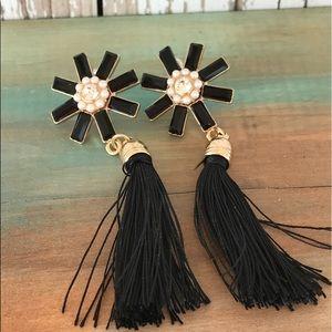 Jewelry - Gold plated tassel drop earrings