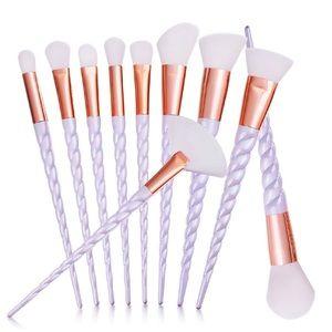 Other - 10 piece makeup brush set