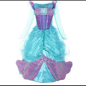Custom Other - NEW SZ 8 LITTLE MERMAID FULL Length COSTUME DRESS
