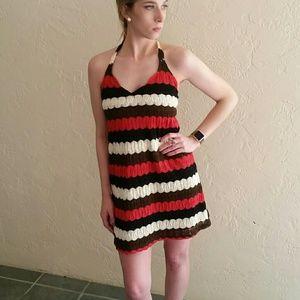 Judith March Dresses & Skirts - Judith March Crochet Halter Dress