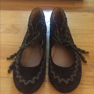 Boutique 9 Shoes - Boutique 9 suede boho flats
