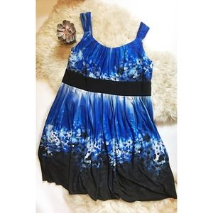 Dress Barn Dresses & Skirts - Dressbarn Modern Abstract Dress