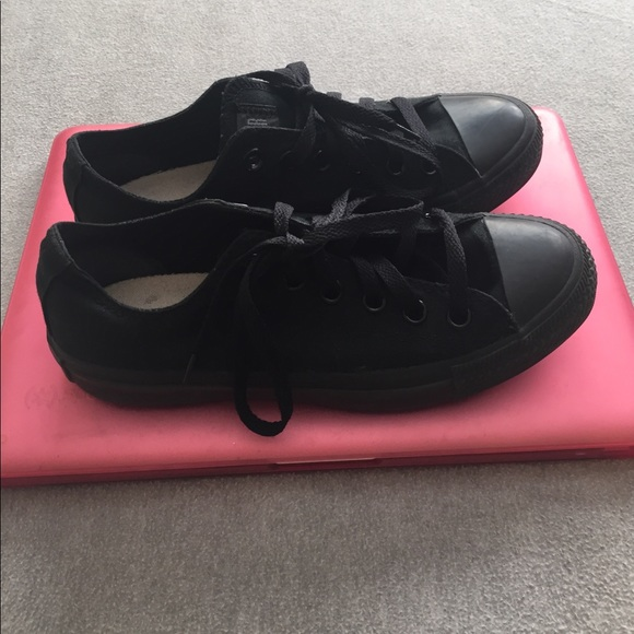 converse all black converse all star boys size 5 from