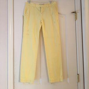 Aeropostale yellow pants
