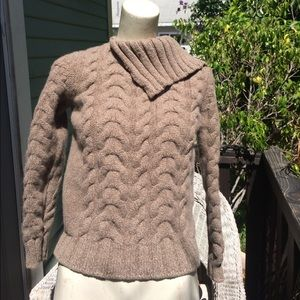 Moncler Sweaters - 🎉MONCLER 💯 Lama Wool Sweater brown cable Size L