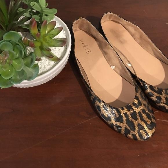 5dfce8bb4bad jcpenney Shoes - MixIt Leopard Patent Ballet Flats
