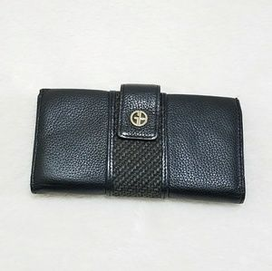 Giani Bernini Handbags - Giani Bernini Leather Many Card Slot Wallet W10