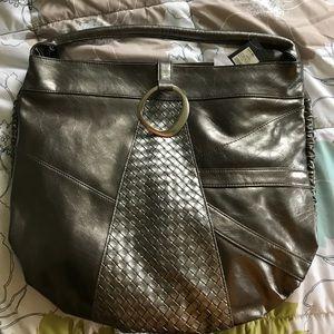 Mossimo Handbags - MOSSIMO Silver Metallic Hobo NWT